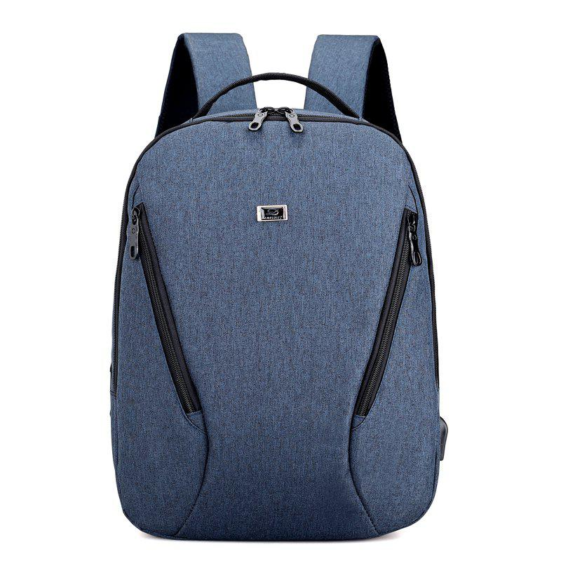 Anti Thief Backpack USB Charging Men 15 inch Laptop Bags Fashion Male Travel Backbag baibu high quality waterproof travel trolley backpack luggage bags wheeled carry ons bags large capacity trolley bags for laptop