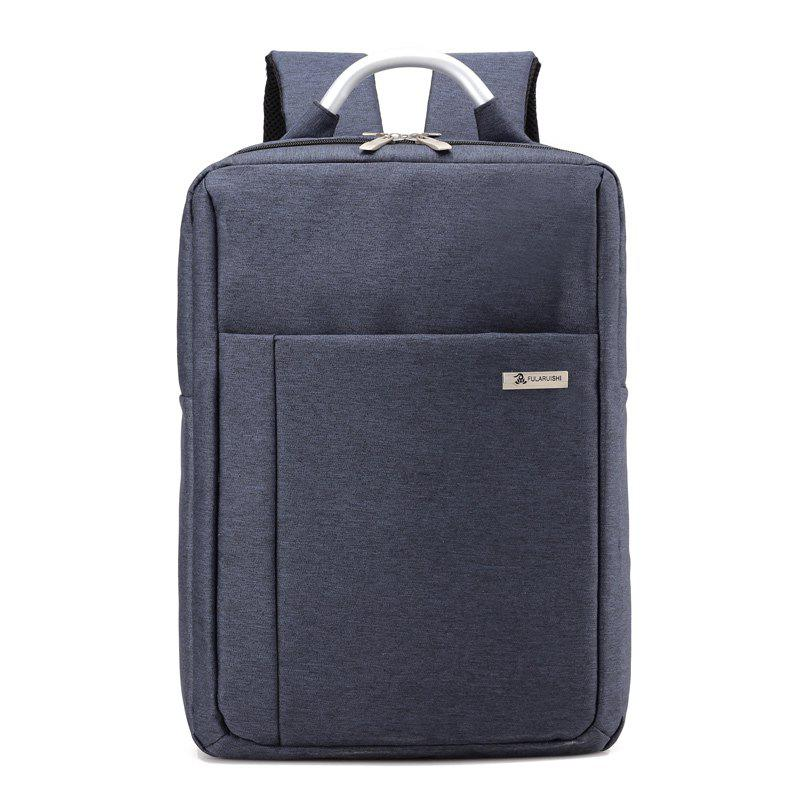Large Men Laptop Backpacks Business Computer Bags Male Fashion Backbag Women Waterproof Large Capacity Casual - LIGHT STEEL BLUE