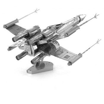 3D Metal Model Kits Puzzle Fighter - SILVER