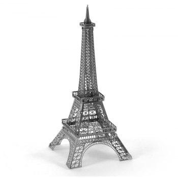 3D Metal Tower Kit Puzzle - SILVER