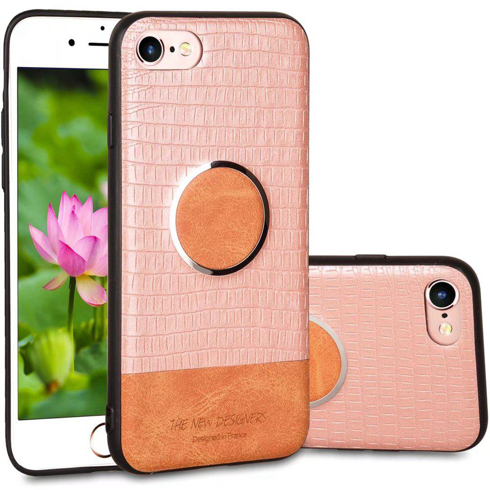 For iPhone 6 Plus / 6s Plus  Case Magnetic Function Soft Back Cover - ROSE