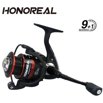 Honoreal Spinning Telescopic Fishing Rod and Reel Combo with Fishing Line Lure and Hook for Travel - multicolor 2.1M