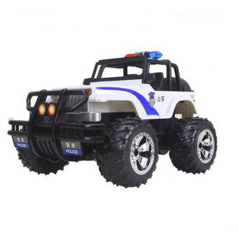 Remote Control Toy SUV Electric RC Car Model for Children - WHITE