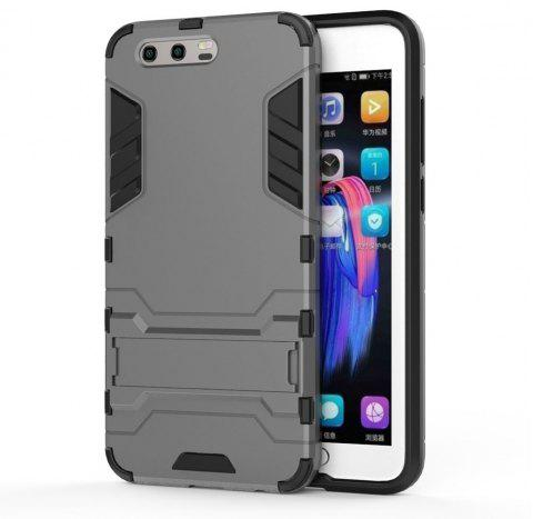 Armor Case for Huawei Honor 9 Silicon Back Shockproof Protection Cover - GRAY