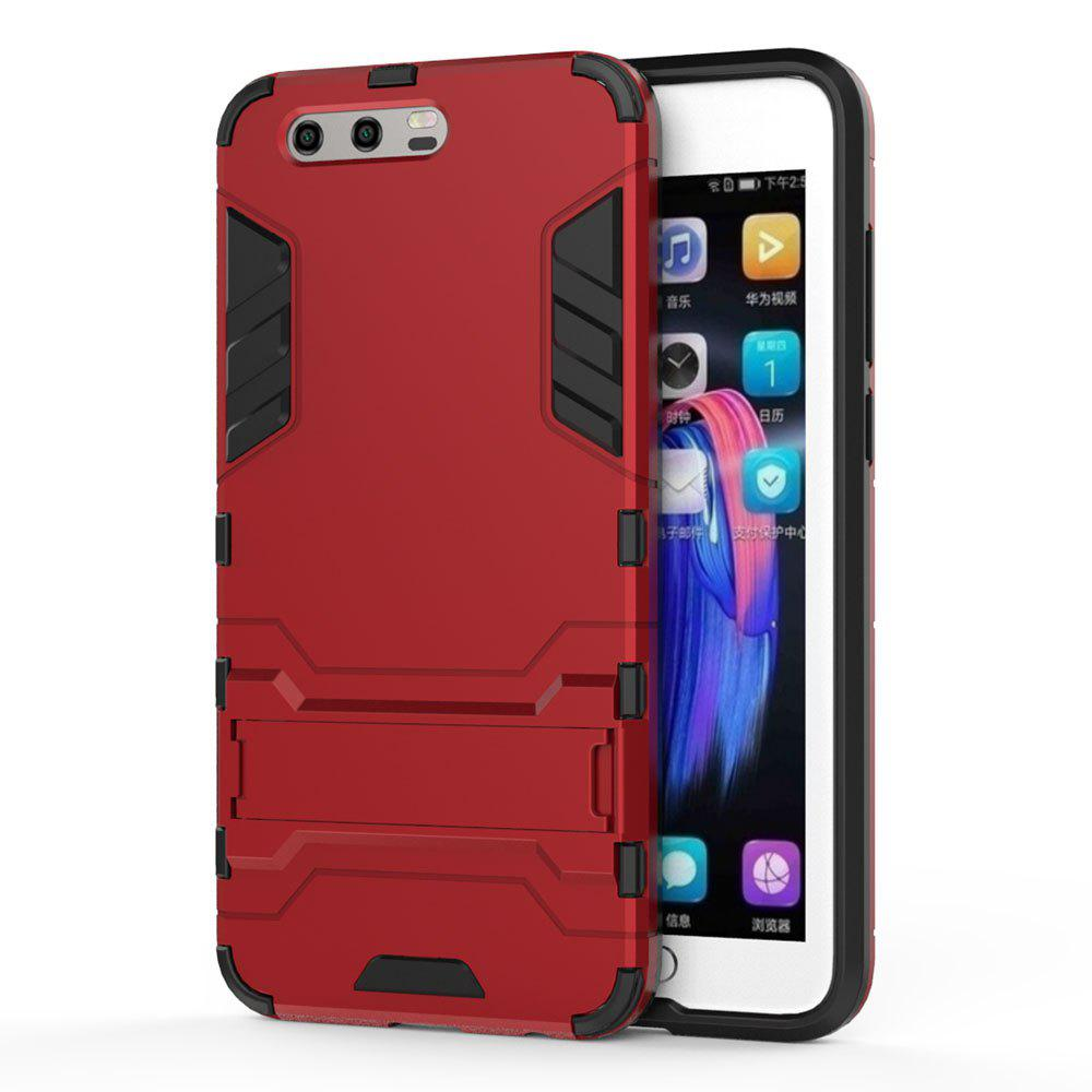 Armor Case for Huawei Honor 9 Silicon Back Shockproof Protection Cover - RED