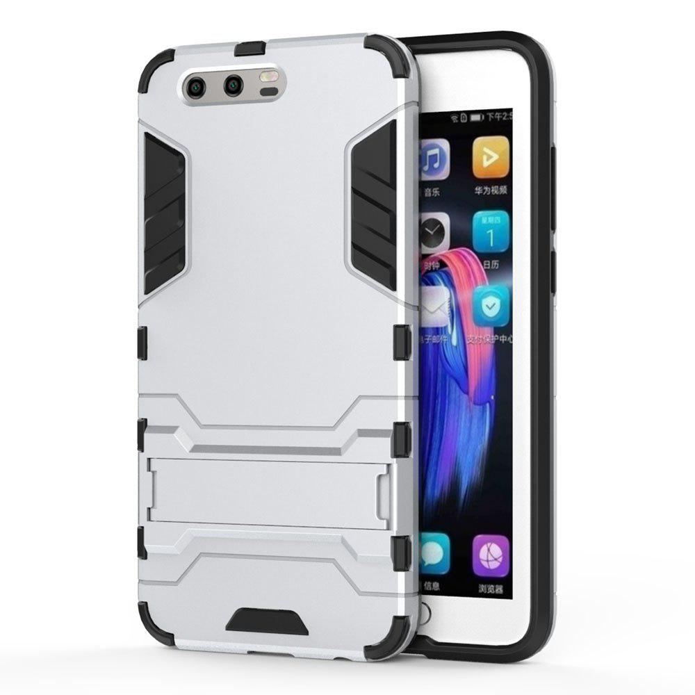 Armor Case for Huawei Honor 9 Silicon Back Shockproof Protection Cover - SILVER