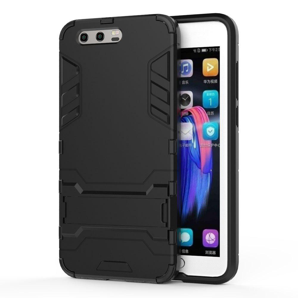 Armor Case for Huawei Honor 9 Silicon Back Shockproof Protection Cover - BLACK