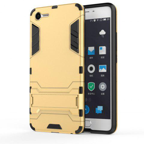 Armor Case for Meizu Meilan E2 Silicon Back Shockproof Protection Cover - GOLD