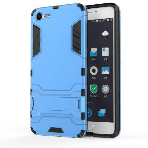 Armor Case for Meizu Meilan E2 Silicon Back Shockproof Protection Cover - BLUE