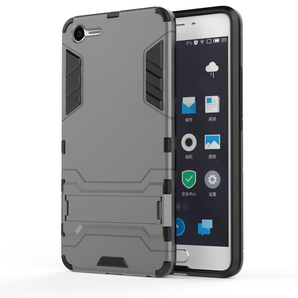 Armor Case for Meizu Meilan E2 Silicon Back Shockproof Protection Cover - GRAY