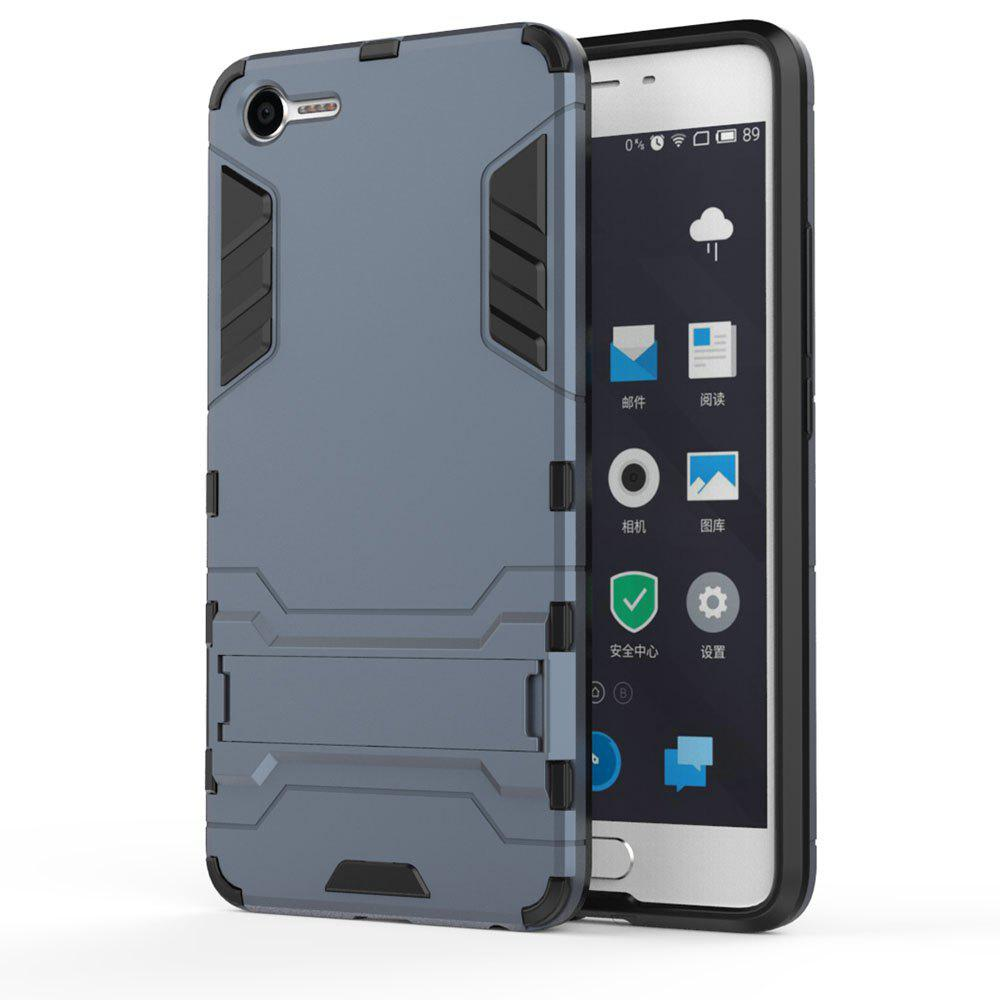 Armor Case for Meizu Meilan E2 Silicon Back Shockproof Protection Cover - MIST BLUE