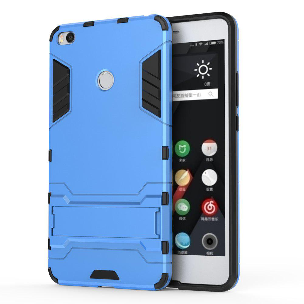 Armor Case for Xiaomi Max 2 Silicon Back Shockproof Protection Cover - BLUE