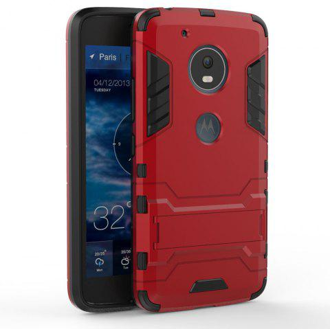Armor Case for Motorola Moto G5 Shockproof Protection Cover - RED