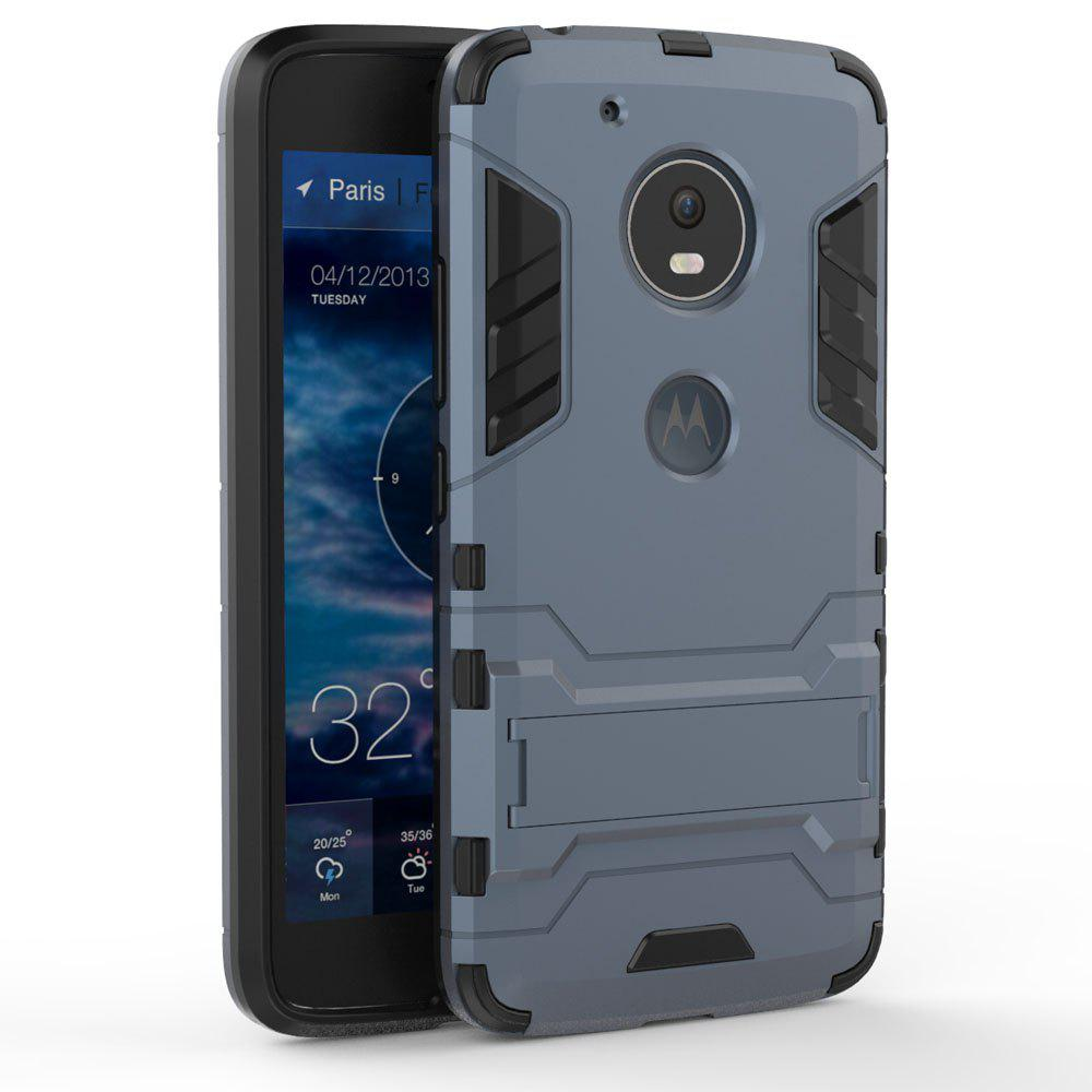 Armor Case for Motorola Moto G5 Shockproof Protection Cover - MIST BLUE
