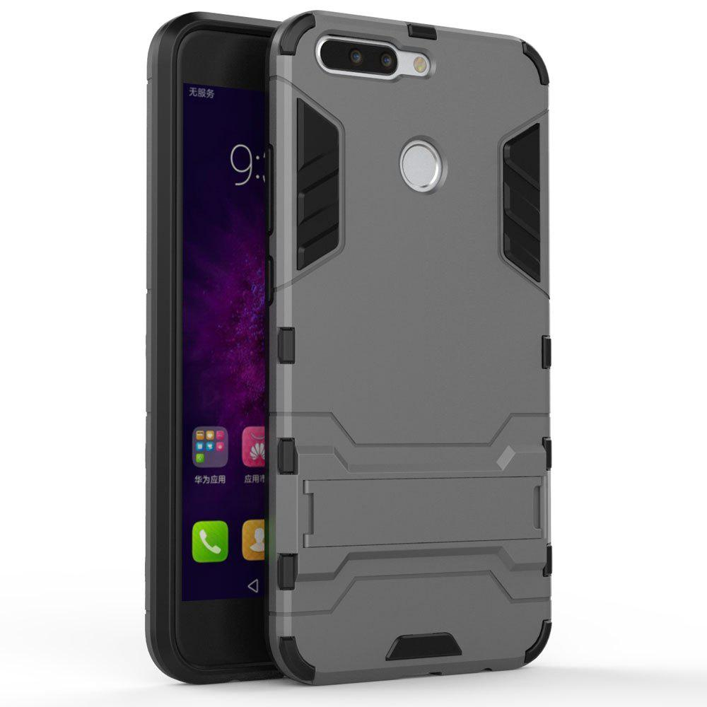 Armor Case for Huawei Honor V9 / Honor 8 Pro Shockproof Protection Cover - GRAY