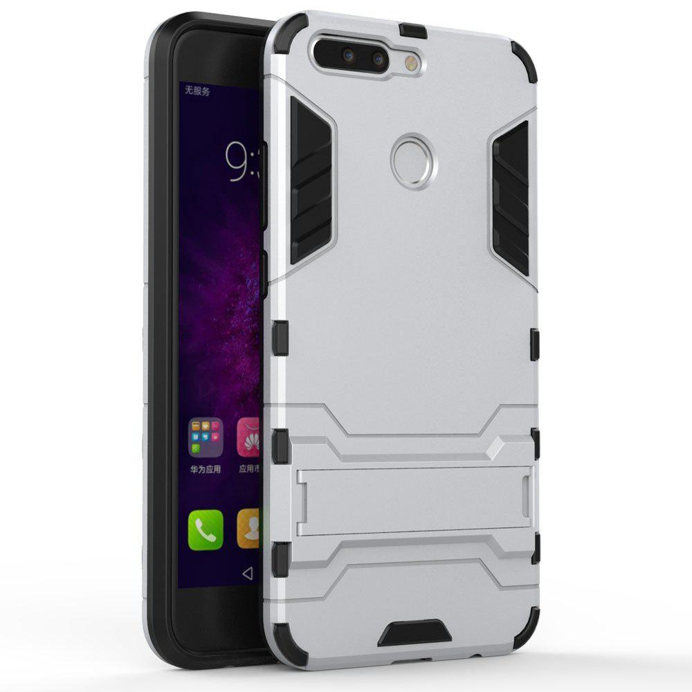 Armor Case for Huawei Honor V9 / Honor 8 Pro Shockproof Protection Cover - SILVER