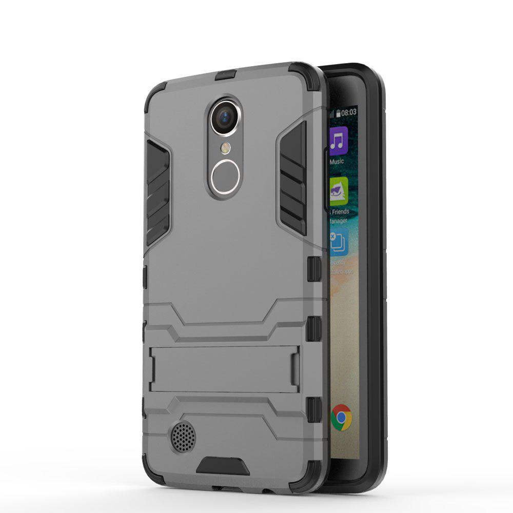 Armor Case for LG K8 2017 / LV3 Shockproof Protection Cover - GRAY