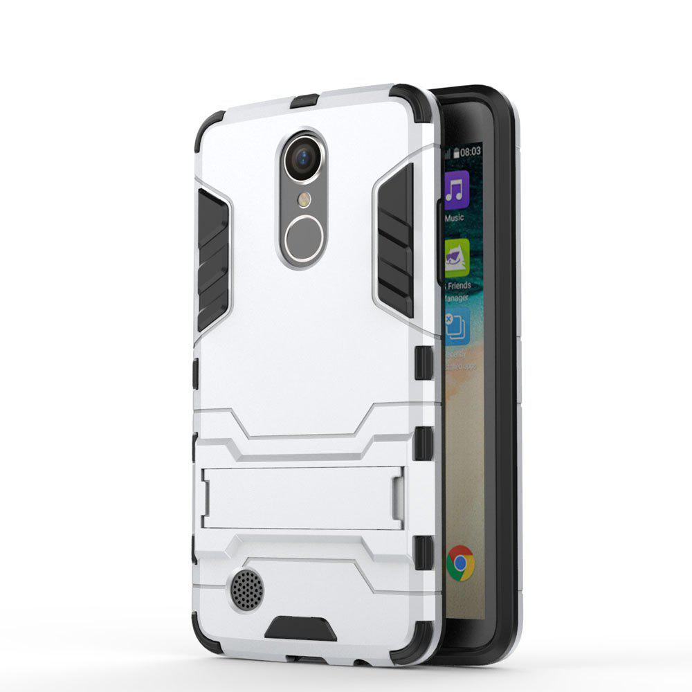 Armor Case for LG K8 2017 / LV3 Shockproof Protection Cover - SILVER