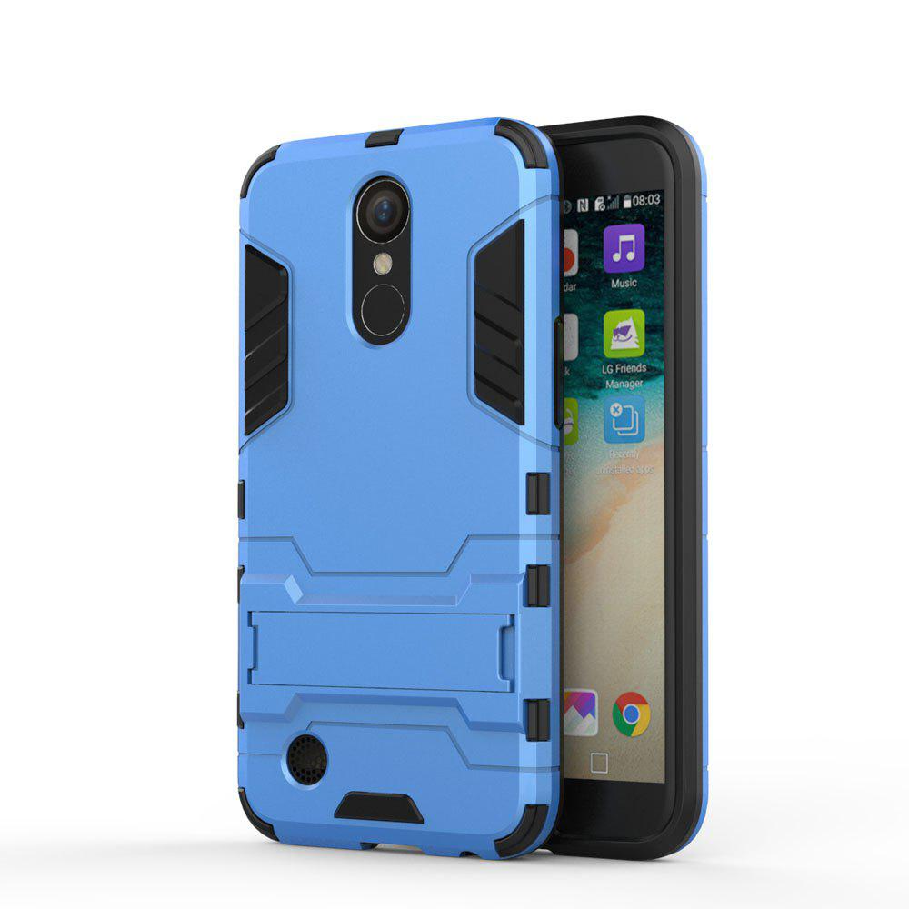 Armor Case for LG K10 2017 / LV5 Shockproof Protection Cover - BLUE