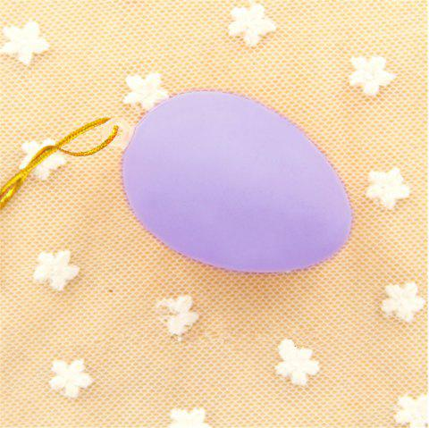 Plastic Easter Egg Pack of Empty  Hunt Assorted Colours - MAUVE