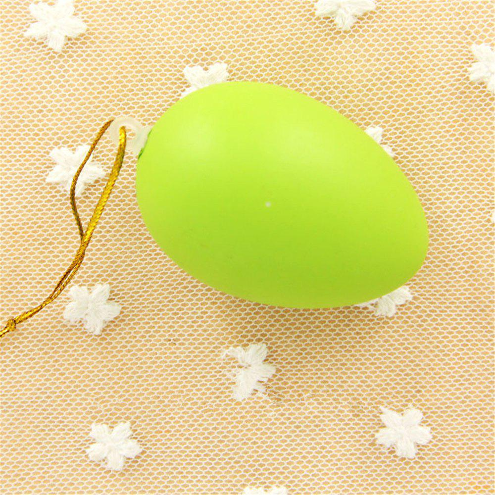 Plastic Easter Egg Pack of Empty  Hunt Assorted Colours - SALAD GREEN