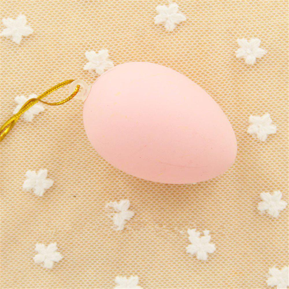 Plastic Easter Egg Pack of Empty  Hunt Assorted Colours - MISTY ROSE