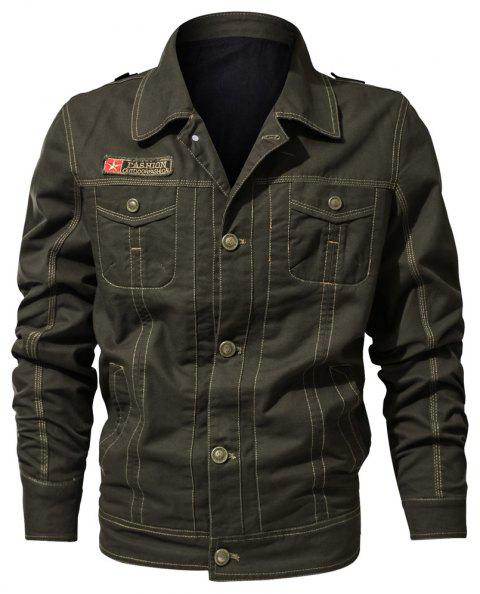 Spring and Autumn Tooline Jacket - DARK FOREST GREEN M