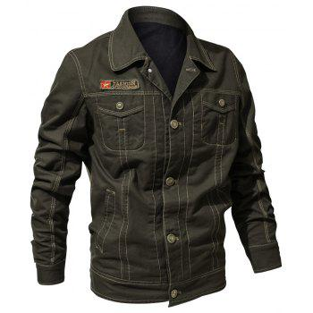 Spring and Autumn Tooline Jacket - DARK FOREST GREEN L