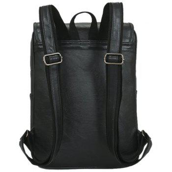 New Arrival Backpacks For Men Unisex Casual Fashion Bag College Bags - BLACK