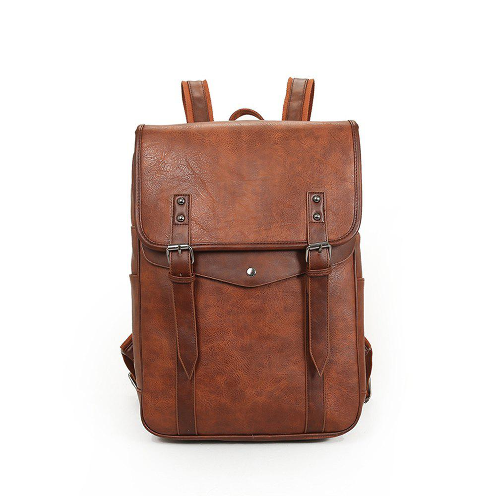 New Arrival Backpacks For Men Unisex Casual Fashion Bag College Bags - ORANGE SALMON