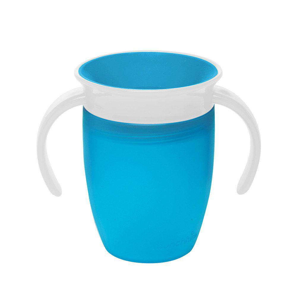 360 Degree Magic Leakproof Water Cup Baby Training Cup - DEEP SKY BLUE