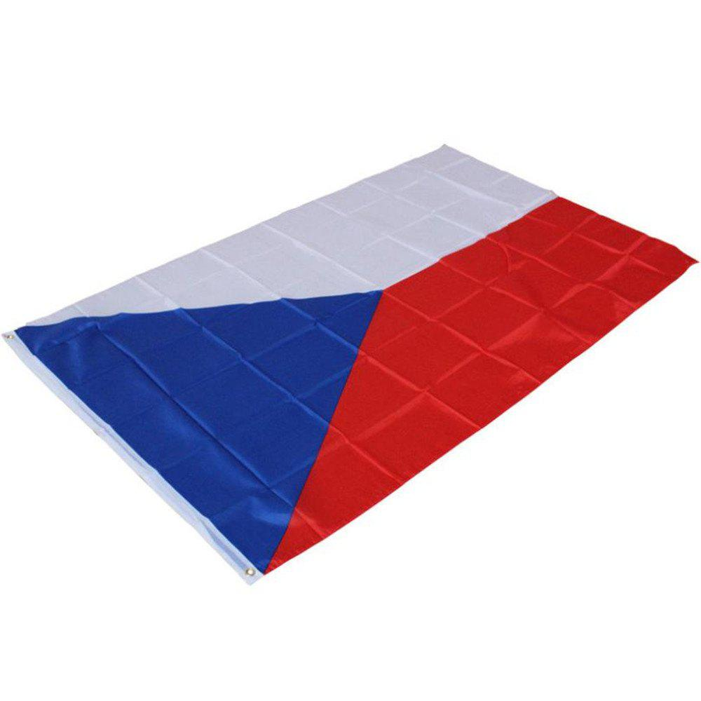 CZECH REPUBLIC FLAG CZECHOSLOVAKIA BANNER EU Indoor Office/Activity/Parade/Fest - multicolor