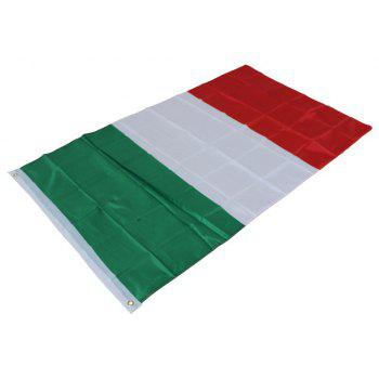 Italy Flag Banner Event Festival Parade Celebration Outdoor Home Decoration - multicolor