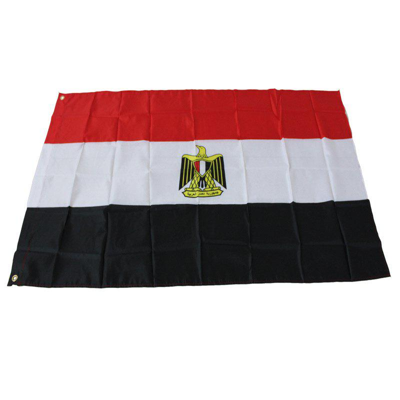 Hanging Egyptian Flag Office / Events / Parades / Holidays / Home Decorations - multicolor
