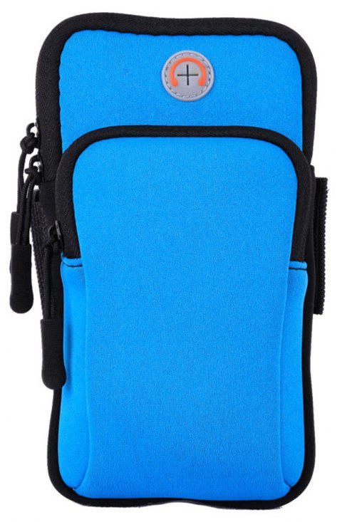 Unisex Outdoor Sports Phone Wrist Portable Bags - BLUE