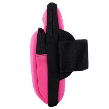 Unisex Outdoor Sports Phone Wrist Portable Bags - PINK
