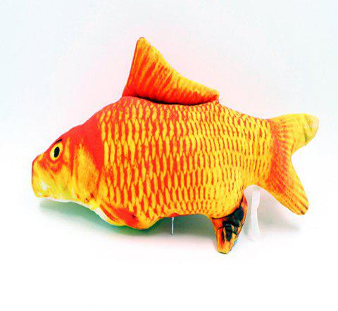 Lovoyager LVC0316 Pet Imitation Plush Toy Fish. - RED M