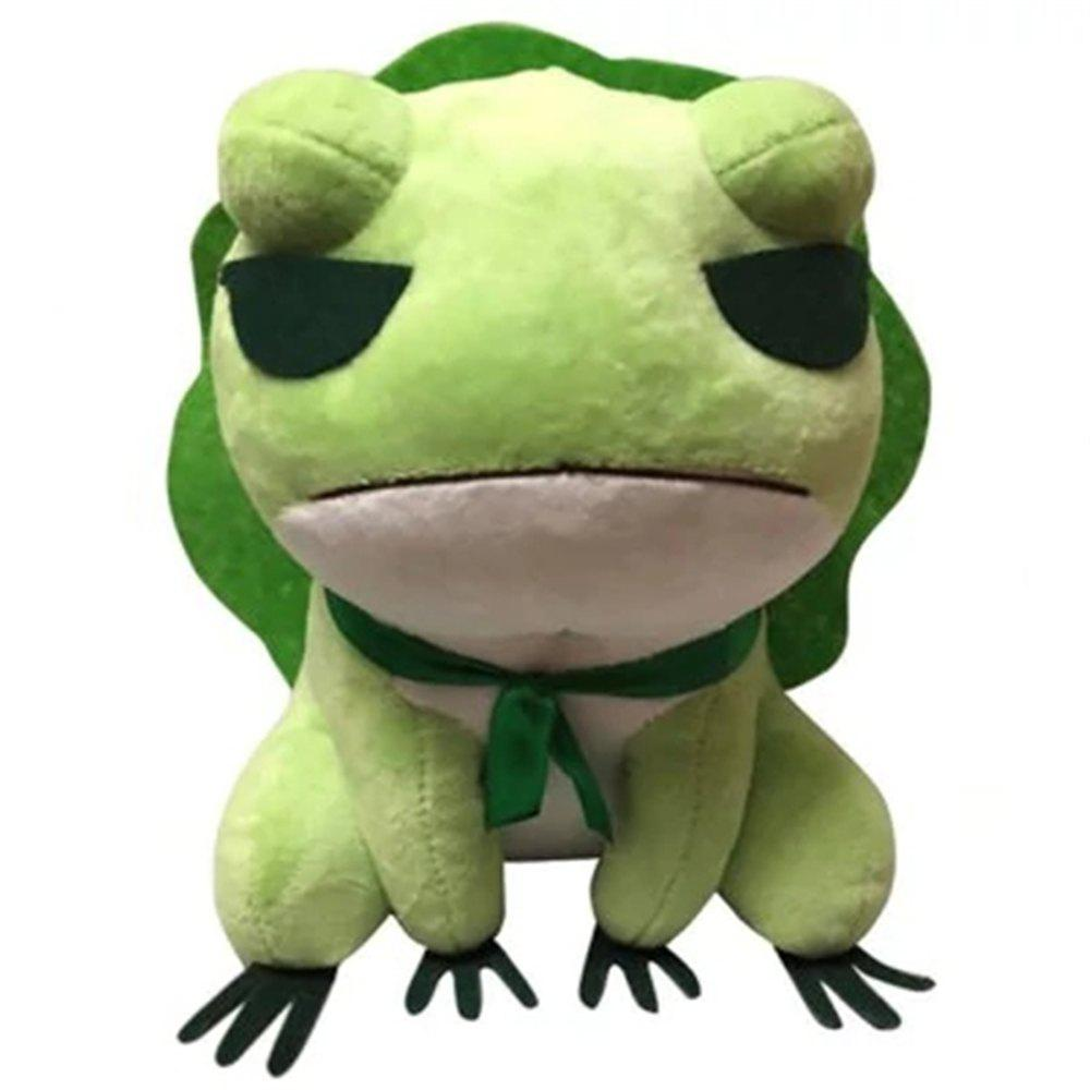 Frog Plush Toy Stuffed Doll Figure Gift - YELLOW GREEN