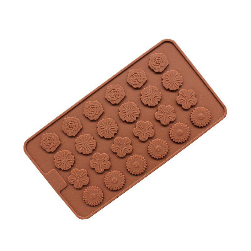 New Hot Rose Mini Chocolate Cake Baking Mould 1PCS baby girls dress newborn girl clothes children clothing princess flower girl dresses summer children clothing baby stripes dress