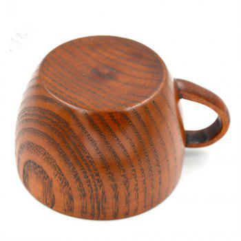 Simple Natural Sour Jujube Wood Coffee Cup - WOOD