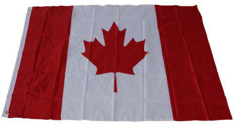 Canada Flag Decoration World Cup / Events / Parades / Festival Celebrations - multicolor