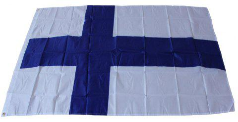 Hanging Finland Flag Standard Flag Outdoor Indoor - multicolor