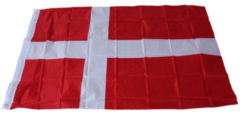Denmark Flag Office / Events / Parades / Holidays / Home Decor - multicolor