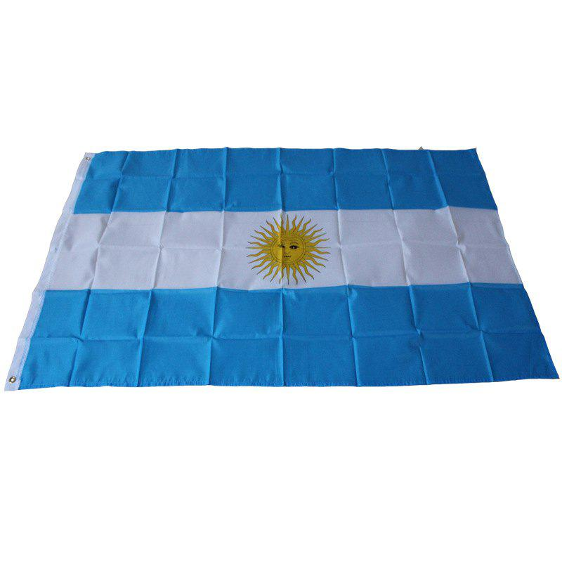 Football Banner World Cup Interior Argentina Flag Home Decoration Outdoor - multicolor