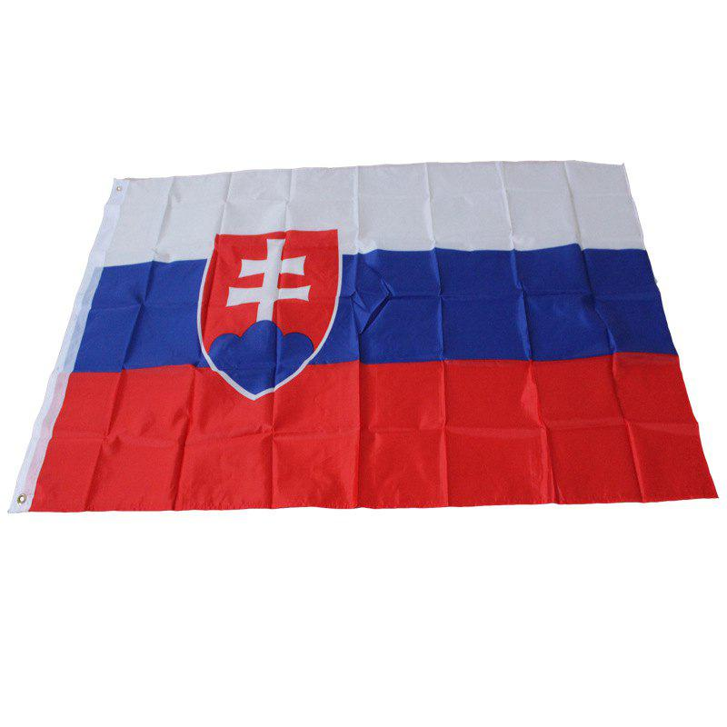 Slovakia Flag And Banners National Country Banner Home Decoration - multicolor