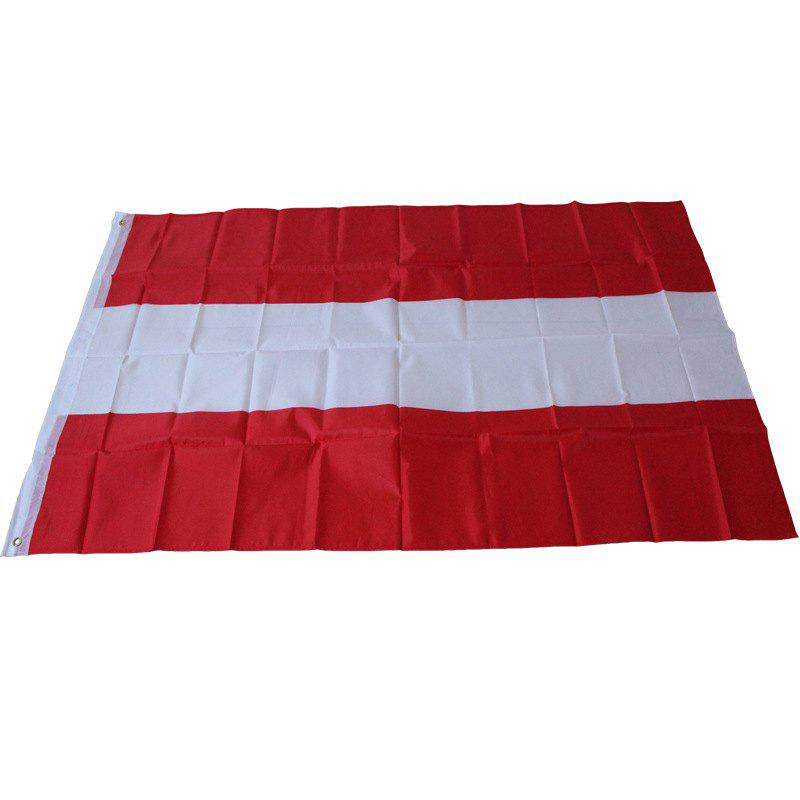 Austria Flag Indoor Outdoor Office / Events / Parade / Holiday / Home Decoration - multicolor