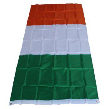 Irish Flag Banner Celebration Indoor and Outdoor Decoration - multicolor