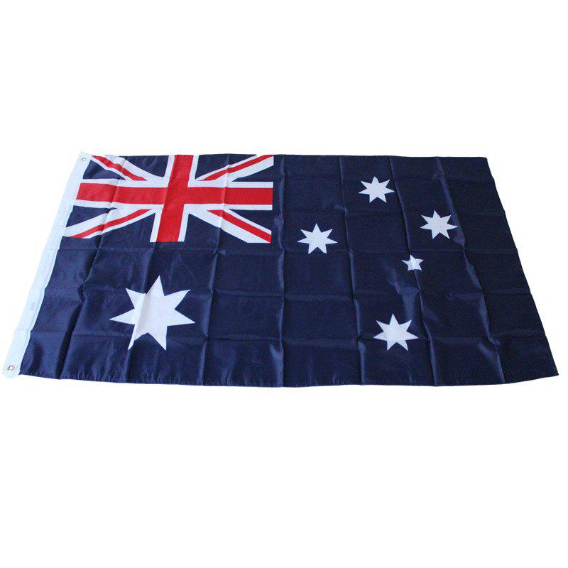 Australian Flag Outdoor Interior Banner for Celebration - multicolor
