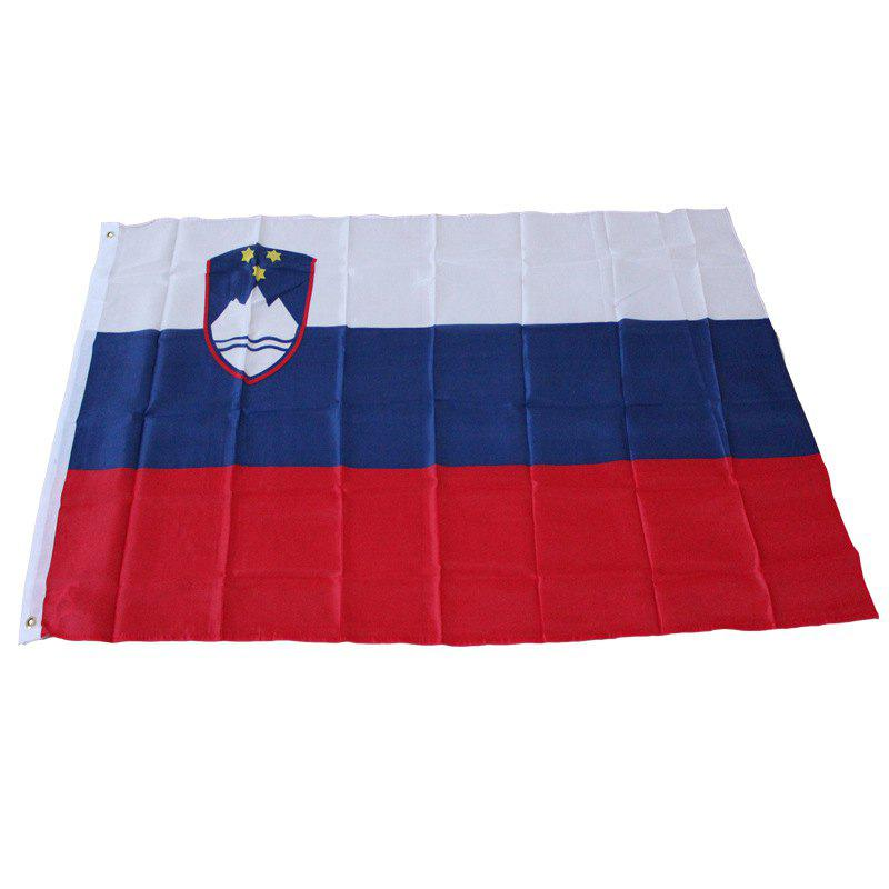 Slovenia Flag Hanging Outdoor Indoor for Celebration - multicolor