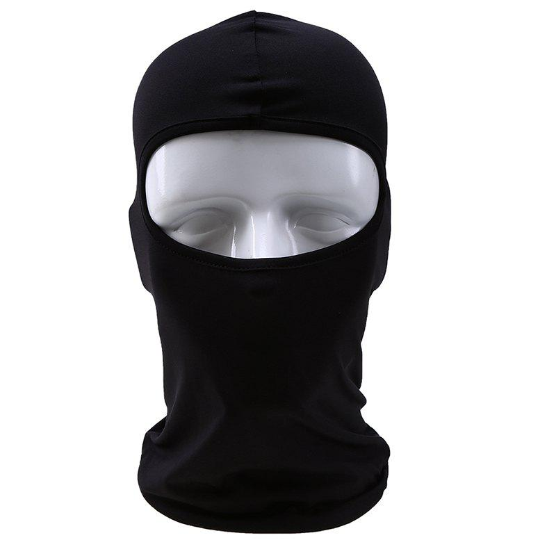Outdoor Sports Hood Cycling dust Mask - BLACK